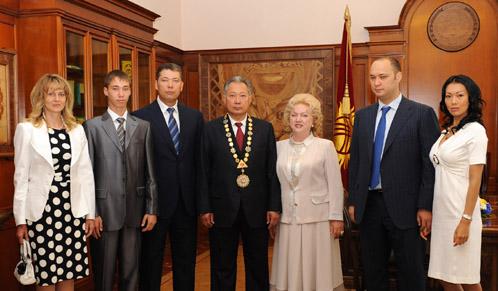 The Bakiev Clan